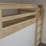 After: bespoke nook bed and ladder