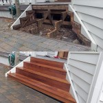 Front steps replaced