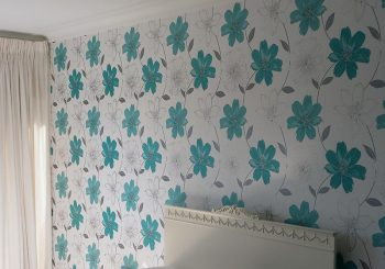 feature wall wallpapering